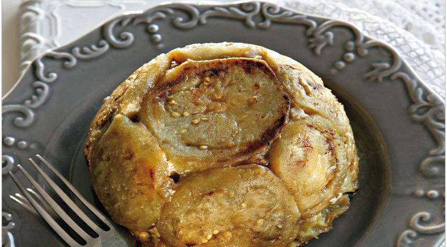 Рецепт Шарлотка из ягненка с баклажанами