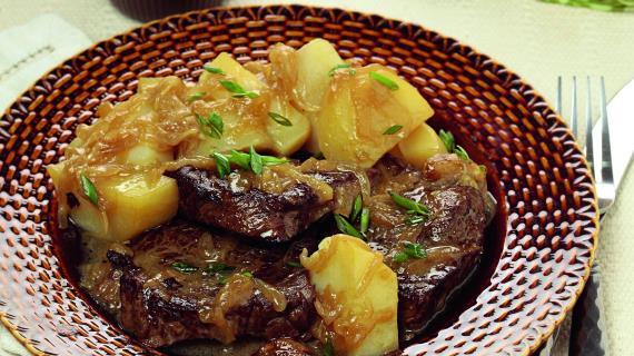 Жаркое с картофелем и чесноком, пошаговый рецепт с фото