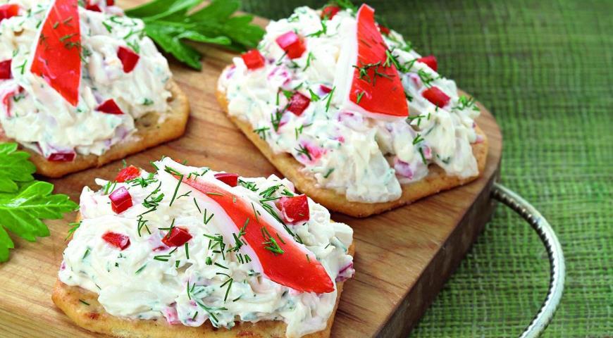 Рецепт Дип из сыра и сурими