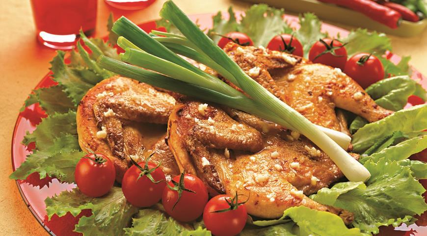 цыпленок табака с фото пошаговый рецепт