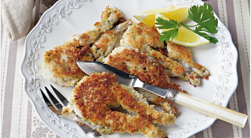 Рецепт Лягушачьи лапки, жаренные с петрушкой