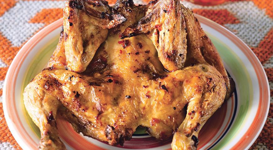 Рецепт Цыплята на гриле по-восточному