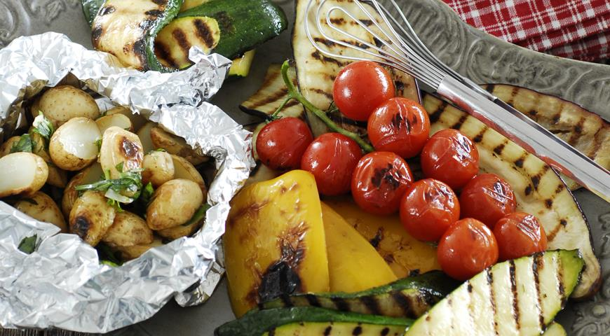 Овощи барбекю рецепты проекты порядовок барбекю