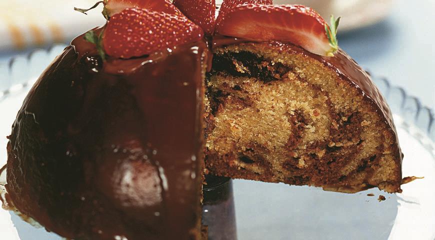 Рецепт Пасхальный шоколадный кекс