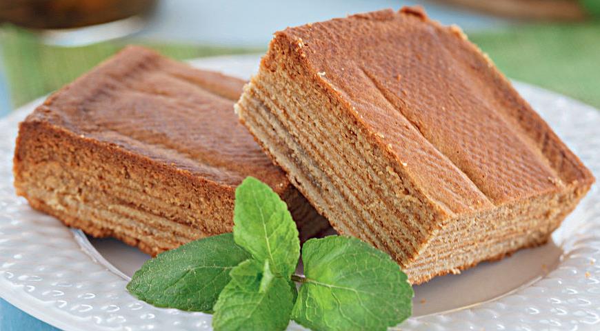 рецепт с фото торт слоеный