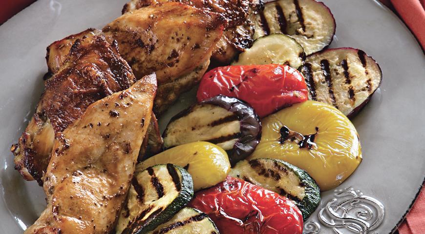 Рецепт Курица на гриле