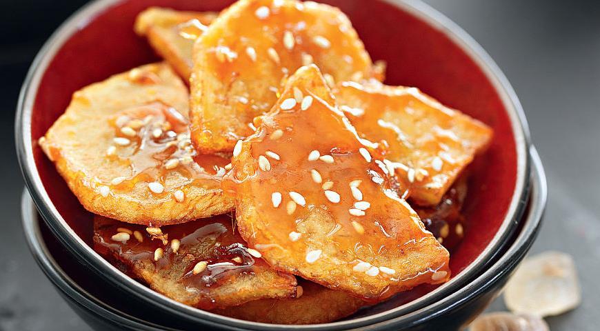 Рецепт Глазированный сладкий картофель