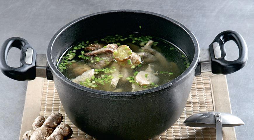 Рецепт Китайский куриный бульон