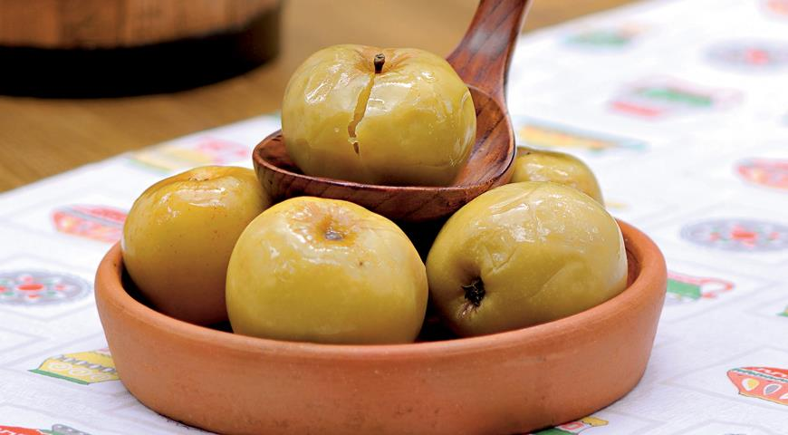 Рецепт Русские моченые яблоки