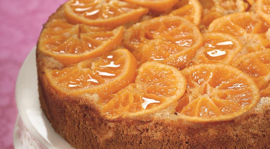 Рецепт Пирог с мандаринами