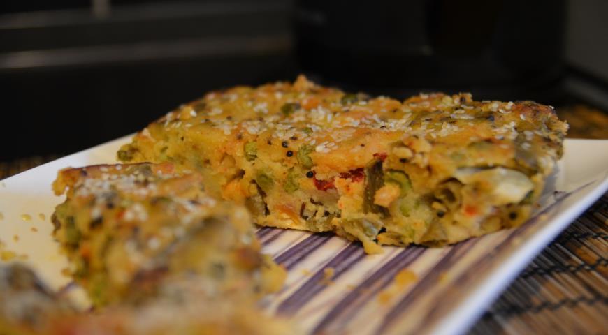 Рецепт Гуджаратский овощной пирог