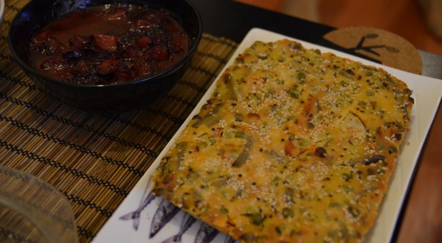 Гуджаратский овощной пирог, пошаговый рецепт с фото