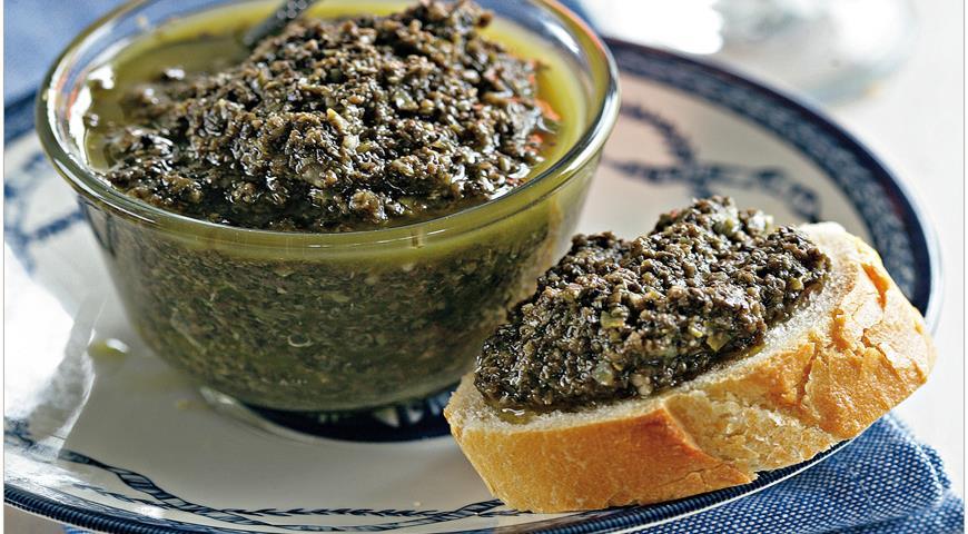 Классический тапенад из Прованса, пошаговый рецепт с фото