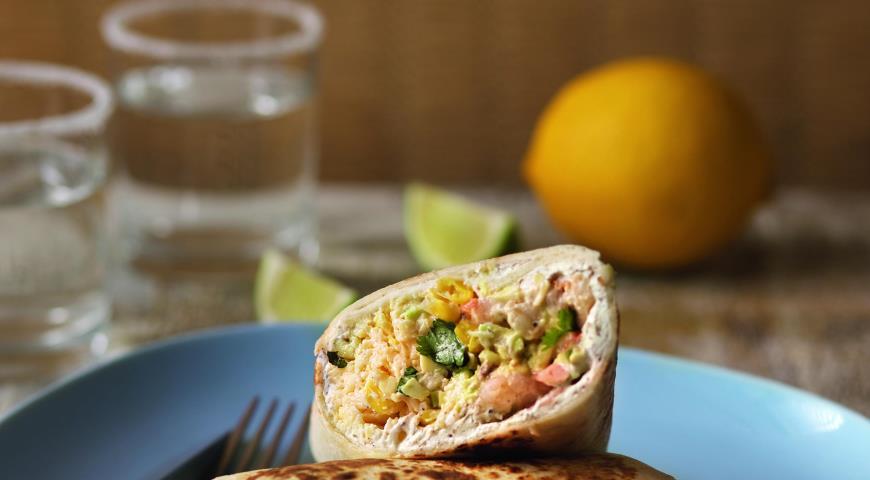рецепты мексиканский ролл