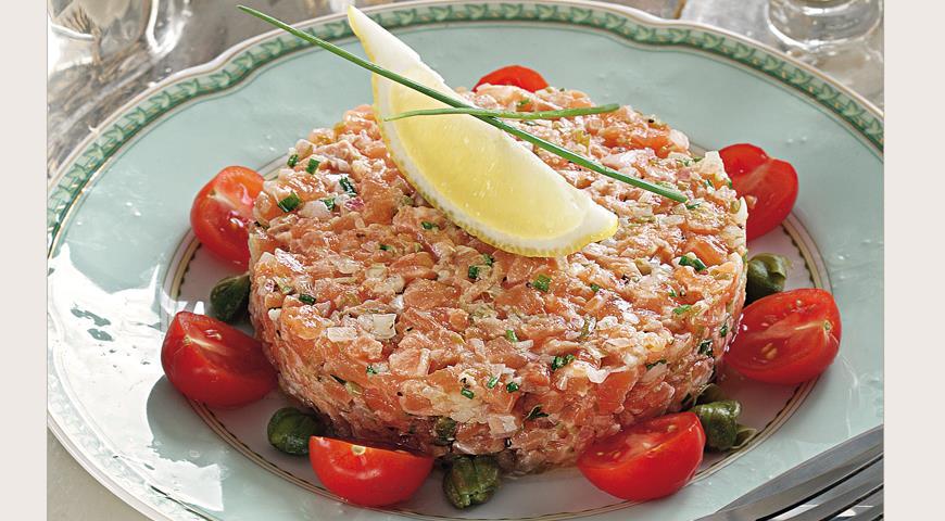 Рецепт Рыбный тартар