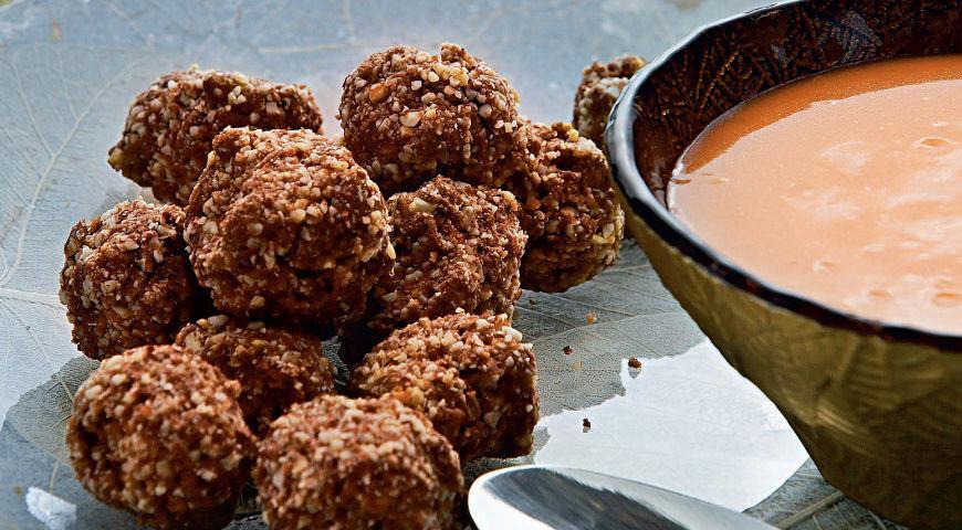 Рецепт Шоколадные шарики с апельсиновым маслом