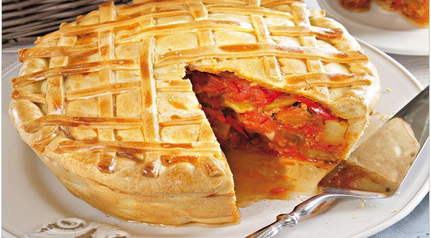 Рецепт Пирог с рататуем