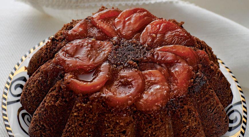Рецепт Шоколадно-абрикосовый пудинг