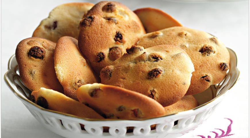 Рецепт Печеньица с изюмом