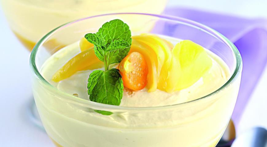 Рецепт Десерт «Двойное манго»