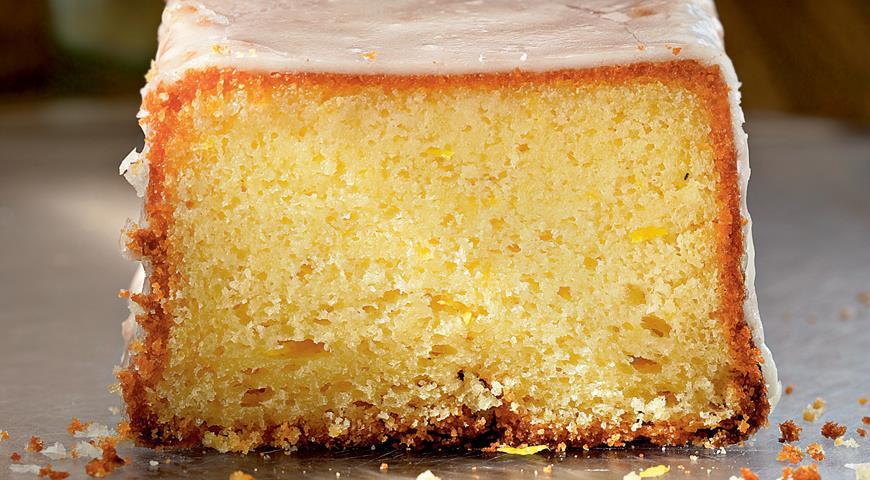 Рецепт Яично-лимонный кекс