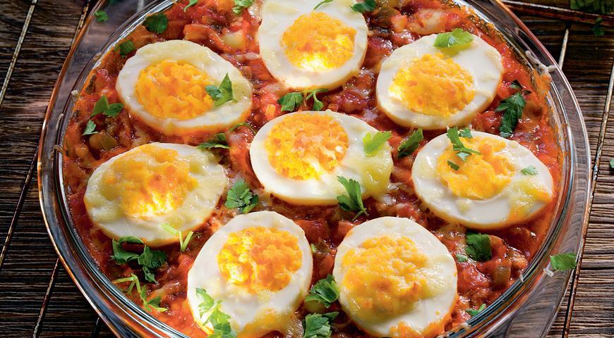 Рецепт Яйца по-кубински