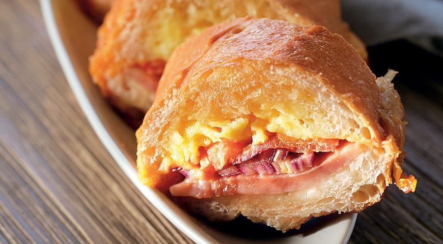 Рецепт Горячий яичный сэндвич