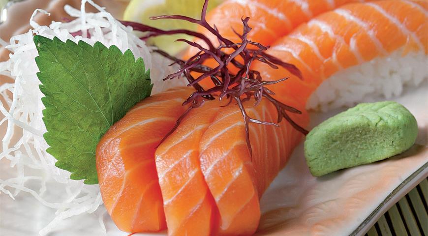Рецепт Суши и сашими