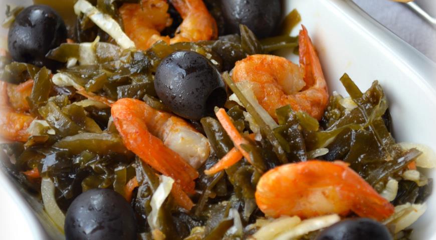 Рецепт Салат Дары моря