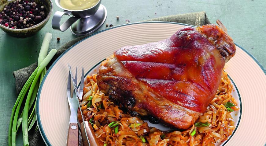 Рецепт Свиная рулька медленного приготовления