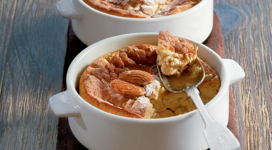 Рецепт Яичное суфле с яблоками