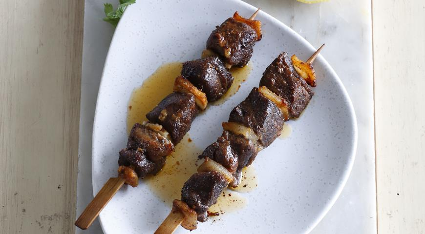 Рецепт Сувлакия, шашлычки из барашка