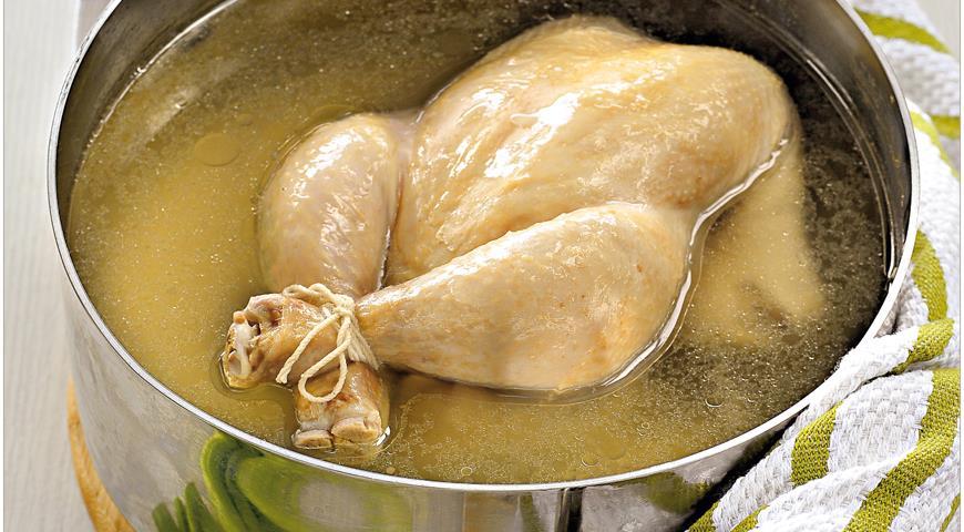Рецепт Ароматный куриный бульон