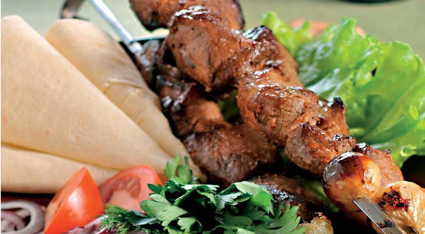 Рецепт Очень вкусный шашлык из свинины
