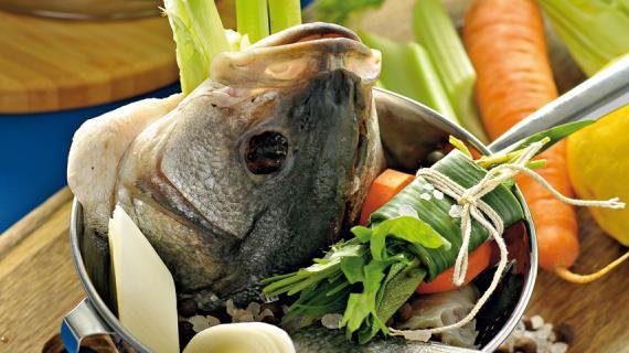 Рыбный бульон, пошаговый рецепт с фото