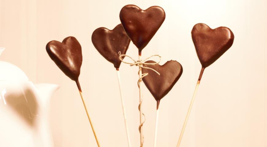 Рецепт Шоколадные сердечки
