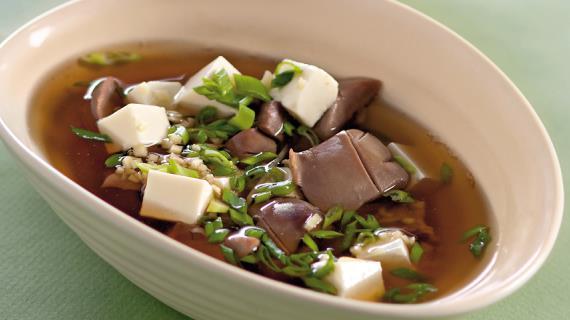 Китайский суп из почек с тофу, пошаговый рецепт с фото