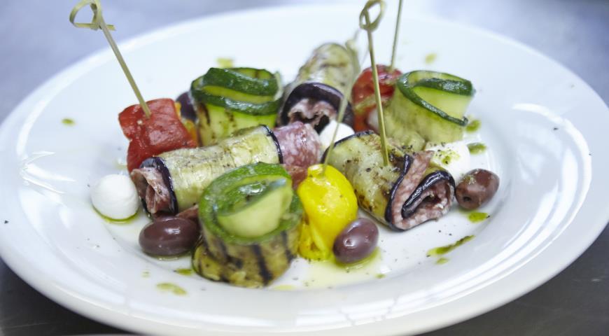 Итальянская закуска, пошаговый рецепт с фото