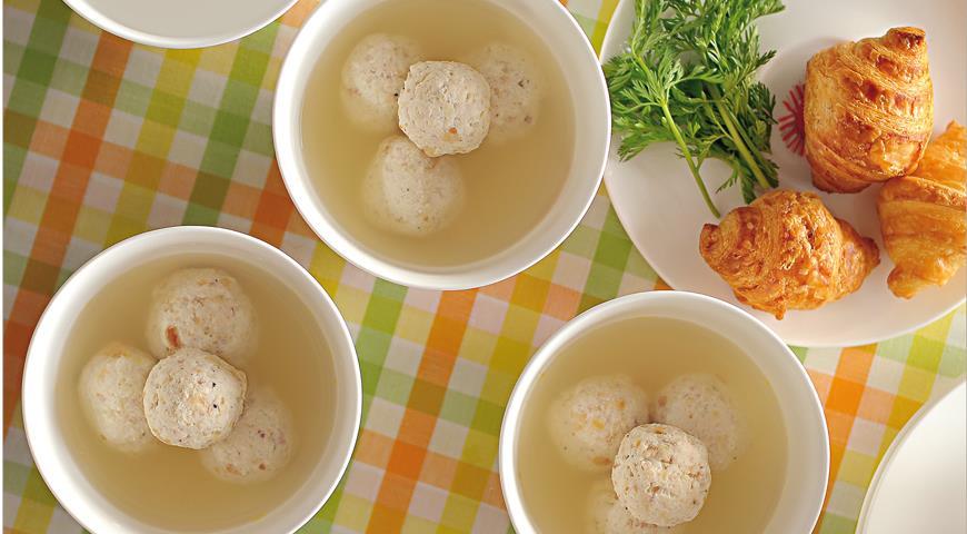 Рецепт Суп с фрикадельками из курицы