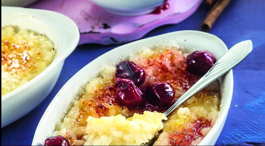 Рецепт Пудинг из риса с соевым молоком