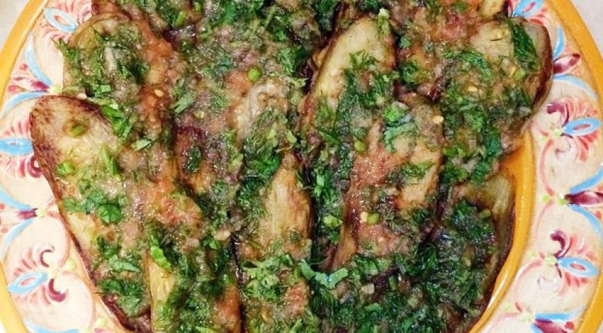 Рецепт Баклажаны с соусом из помидор