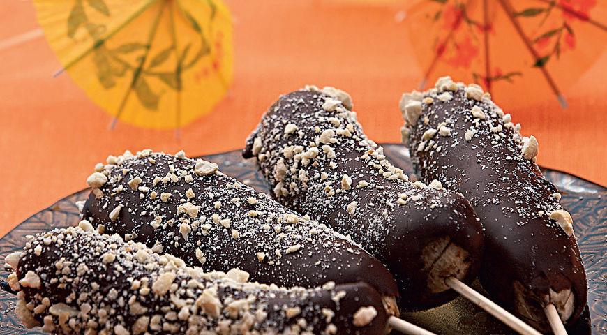 Рецепт Бананово-шоколадное «мороженое»