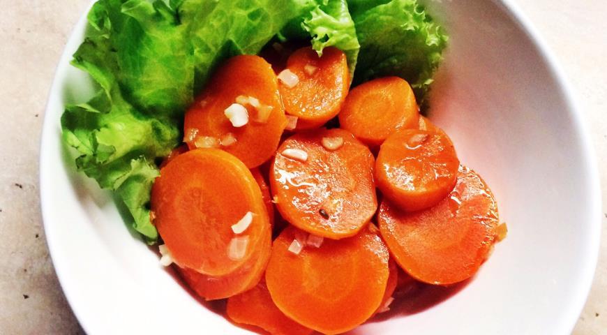 Рецепт Пряная морковь