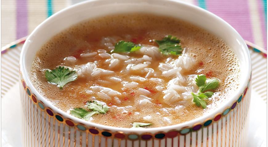 Рецепт Непальский дал бхат, пряный суп из риса и чечевицы