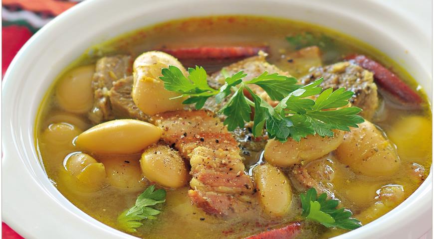 Астурийская фабада , пошаговый рецепт с фото