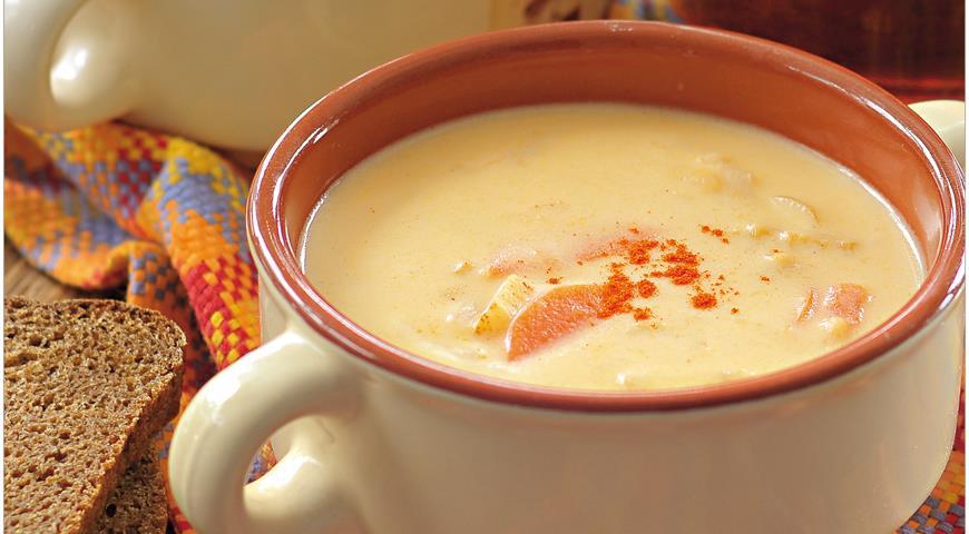 Британский суп из эля с сыром, пошаговый рецепт с фото