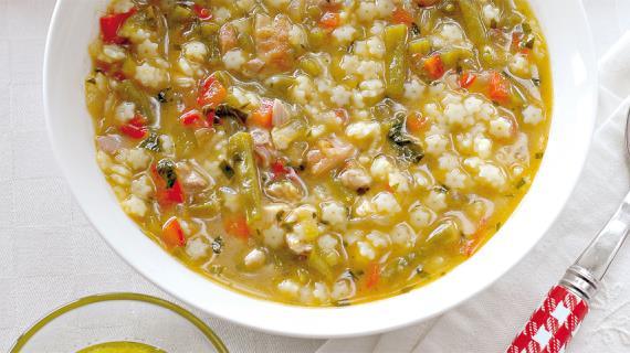 Средиземноморский суп из кролика, пошаговый рецепт с фото