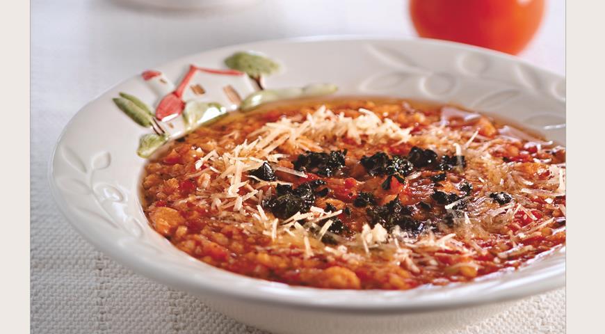 Рецепт «Паппа аль помодоро», томатный суп с хлебом