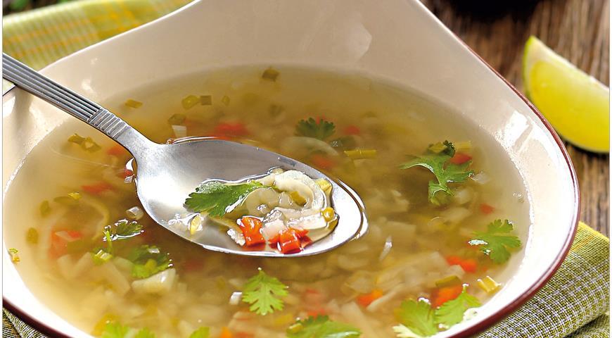 Гаенг прик, острый тайский бульон, пошаговый рецепт с фото
