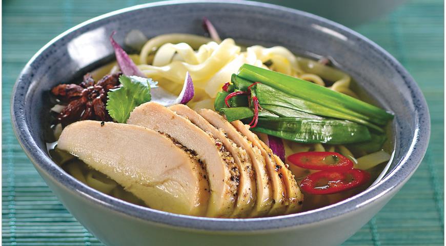 Рецепт Фо га, вьетнамский суп с курицей